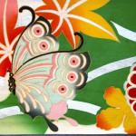 archief  butterfly silk kimono