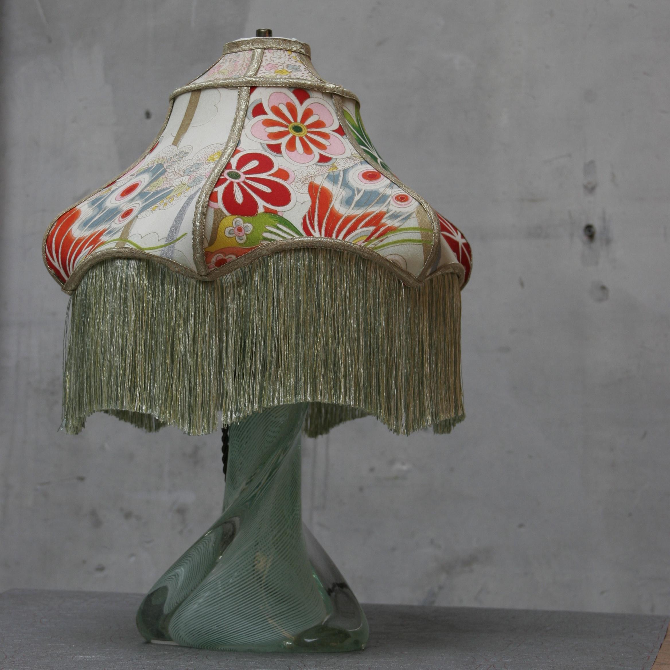 Murano Glass Vintage Kimono Lamp *** SOLD***